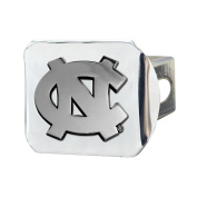 FANMATS NCAA UNC University of North Carolina - Chapel Hill Tar Heels Chrome Hitch Cover