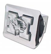 "University of Missouri - Mizzou Tigers ""Bright Polished Chrome with ""M"" Tiger Emblem"" NCAA College Sports Trailer Hitch Cover Fits 5.1cm Auto Car Truck Receiver"