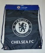 Chelsea Fc GYM Sack BAG Drawstring Backpack Cinch Bag Authentic Official