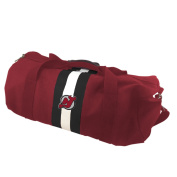 NHL New Jersey Devils Rugby Duffel Bag, Red