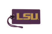 LSU TIGERS NCAA PVC LUGGAGE TAG