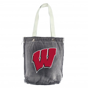 NCAA Wisconsin Badgers Vintage Shopper, 33cm x 36cm , Black