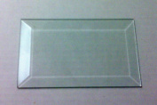 7.6cm X 10cm Clear Glass Bevels-Pack of 6