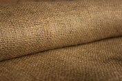 Burlapper 350ml Jute Burlap Fabric Sheet, 100cm x 5 yd, Factory 2nd