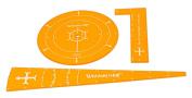 Warmachine Protectorate Acrylic Template Set