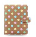 Filofax Patterns Pocket Organiser, Pastel Spots