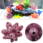 Stebcece Mini Artificial Resin Coral Tree Aquarium Underwater Ornament Fish Tank Decor