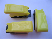 5 pcs Safety Flip Cover for Toggle Switch Opaque Yellow
