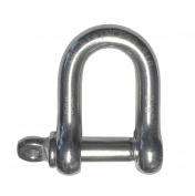 Stainless Steel 316 Forged D Shackle 1cm Marine Grade