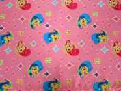 Shimmer and Shine 100% Polyester (FLAT SHEET ONLY) Size TODDLER Girls Kids Bedding