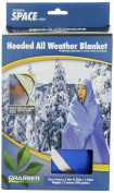 Hooded All Weather Blanket Blue