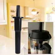 Universal Kitchen Blender Accelerator Tamper Stick Tool Replacement Work For Vitamix - Black