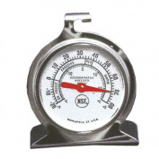 Stainless Steel Refrigerator/Freezer Thermometer | 5.1cm Dial