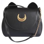 AKStore Women Handbag Cosplay Sailor Moon 20th Tsukino Usagi PU Leather Girls Handbag Shoulder Bags