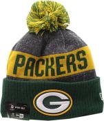 Green Bay Packers 2016 Sport Pom Knit Hat On-Field Logo Block 12266