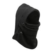 Neck warmer Mask Hoods - TOOGOO(R)Mens Polar Fleece Thermal Neck warmer Snood Scarf Winter Ski Motorbike Mask Hoods