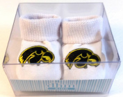Iowa Hawkeyes Boxed Baby Booties
