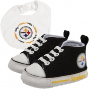 Pittsburgh Steelers NFL Infant Bib and Shoe Gift Set