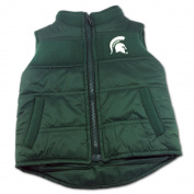 Michigan State Puffy Vest, 24 Months