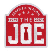 "2017 Detroit Red Wings Arena Final Farewell Season ""The Joe"" Jersey Patch"