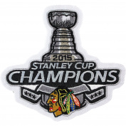 2015 Stanley Cup Champions Jersey Patch Chicagp Blackhawks