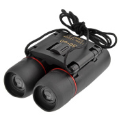 HuntGold Mini 30X60 Zoom Folding Binoculars Telescopes with Night Vision for Outdoor Camping Sightseeing Birdwatching