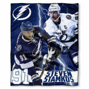 The Northwest Company Tampa Bay Lightning Steven Stamkos Hd Silk-Touch Throw