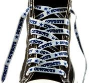 Dallas Cowboys Team Logo Colours 140cm Shoe Laces One Pair Lace Ups NFL
