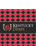 Kentucky Derby Icon Beverage Napkins - 24/pkg.
