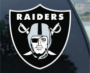 NFL Oakland Raiders 20cm Colour Team Logo Car Decal