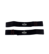 Iron Tanks Heavy Leather Weightlifting Straps - Bodybuilding Powerlifting Gym Barbell