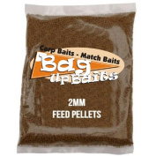 Bag Up Baits Boosted Chopped Worm 2mm Carp Pellets Session Pack With  .