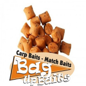 Bag Up Baits Boosted Carp & Barbel Glugged 12mm Monster Cheese Specimen Bites -  .