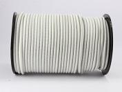 20 M 6 MM Cord White Shock elast. Tensioning Rope / Tarpaulin Rope
