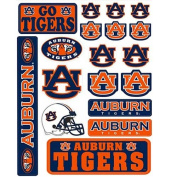 Auburn University Tigers Logo Variety NCAA-licenced Vinyl Sticker Sheet