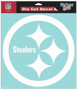 NFL Pittsburgh Steelers 20cm White Logo Decal