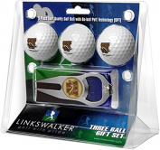 NCAA Western Michigan Broncos - 3 Ball Gift Pack with Hat Trick Divot Tool