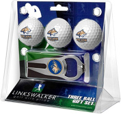 NCAA Montana State Bobcats - 3 Ball Gift Pack with Hat Trick Divot Tool