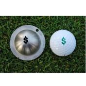 Tin Cup Nassau Golf Ball Marking Stencil, Steel