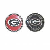 Georgia Bulldogs Double-Sided UGA Golf Ball Marker