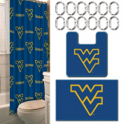 The Northwest Company West Virginia Mountaineers 15 Piece Bath Set
