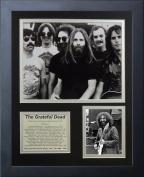 """Legends Never Die """"Grateful Dead"""" Framed Photo Collage, 28cm x 36cm"""