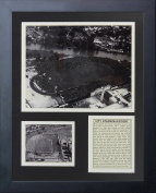 """Legends Never Die """"Green Bay Packers City Stadium"""" Framed Photo Collage, 28cm x 36cm"""