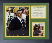"Legends Never Die ""Vince Lombardi"" Colour Framed Photo Collage, 28cm x 36cm"