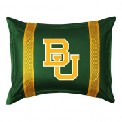 Baylor SIDELINES Jersey Material Pillow Sham