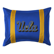 UCLA SIDELINES Jersey Material Pillow Sham