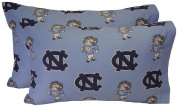 College Covers North Carolina Tar Heels Pillowcase Pair - Solid