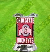 OHIO STATE BUCKEYES NCAA TART WARMER - FRAGRANCE LAMP - BY TAGZ SPORTS -  .