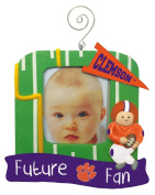 Clemson Tigers Official NCAA 13cm x 13cm Future Fan Photo Frame Christmas Ornament by Evergreen 166761