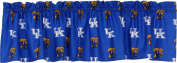 College Covers Kentucky Wildcats Printed Curtain Valance, 210cm by 38cm